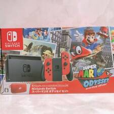 Nintendo Switch Super Mario Odyssey Edition Console System Set Japanese ver New