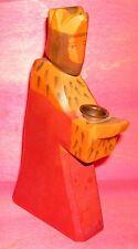 Ostheimer King Candle Holder Wooden Toy Toddler Original Old Figurine King