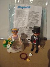 Playmobil Additions & Accessories - 7497 WEDDING COUPLE - NIP