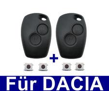 2x 2T SET AUTO Caso chiave per Dacia Duster Sandero Logan + 4X INTERRUTTORE