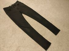 Topman Mens Jeans 28S SPRAY ON SKINNY Black GREAT CONDITION!! Fast Delivery!