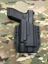 Black Kydex Holster for Glock 17 22 Threaded Barrel Surefire X300 Ultra B Model