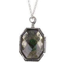 Harry Potter Prop Slytherin Horcrux Locket Necklace Costplay Adom Gifts Decor