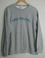 New listing Vintage 90's Nike Athletics Sweatshirt Crewneck Gray Made in Usa Men's Large