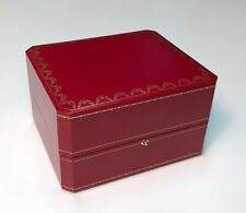 Cartier Wrist Watch Storage / Display / Presentation Box ~ CO 1018 * INCOMPLETE