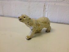 Vintage Possibly Antique Japanese Composite Material Polar Bear Figurine Toy