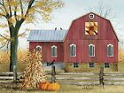 Art Print, Framed or Plaque by Billy Jacobs - Autumn Leaf Quilt Barn - BJ1023A