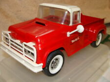 1960 Buddy L Pressed Steel pickup ,Red/white original paint,condition