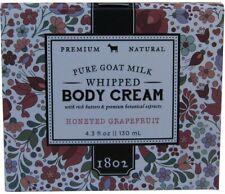 Honeyed Grapefruit Whipped Body Cream, Beekman 1802, 8 oz