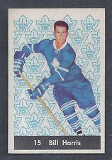 1961 Parkhurst #15 Bill Harris Toronto Maple Leafs NM to NM Plus
