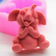 3D Elephant Soap Molds Candle Molds Silicone Soap Making Molds Resin Wax Mould