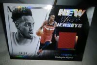 Troy Brown Jr. Noir Jersey #39/99 Washington Wizards