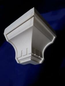 Solid Plaster external corners for 100mm coveing (Dentil)
