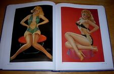 Calendar Art Book - erotica - nudes - Glamour - The Great American Pin-up Girls