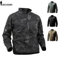 Tactical Military Waterproof Mens jacket Coat Combat Army Trench Coats Casual
