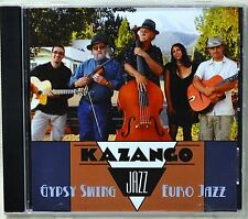 Kazango Gypsy Swing Euro Jazz CD NICE Russian Lullaby Cou Cou Brazil Undecided