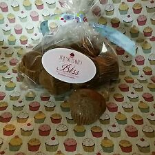 Chocolate Fudge Mini Muffins Melts Soy wax Dessert candles that looks REAL