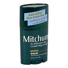 Mitchum Dual Action Odor Protection Antibacterial Anti-Perspirant & Deodorant