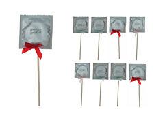 50x Kondomlutscher Scherzartikel JGA Junggesellenabschied Party Kondome 553