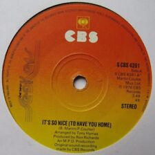 """NEW SEEKERS - It's So Nice (To Have You Home) - Excellent Con 7"""" Single CBS 4391"""