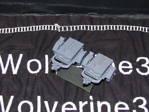 Flames Of War German Artillery Trailer Generic Set of 2 1/100 15mm FREE SHIPPING