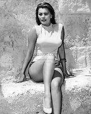 SOPHIA LOREN LEGENDARY ACTRESS AND SEX SYMBOL - 8X10 PUBLICITY PHOTO (FB-954)