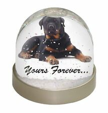Rotweiler Dog Yours Forever Photo Snow Globe Waterball Stocking Filler Gift