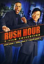Rush Hour 1-3 Collection (Dvd, 2011, 2-Disc Set) New