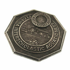 Elliott Sterling Swimming Medal FLA Interscholastic Aquatic Meet 1922 Wm Covode