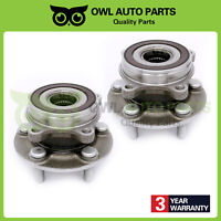 Set of 2 Front Wheel Hub And Bearing Assembly For Toyota Prius 2010-2015 5 Bolts