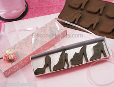 8 High Heeled Shoes Shoe Silicone Bakeware Mould Chocolate Mold Cookie Candy