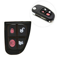Replacement Shell Remote Key Case Fob 4 Button for Jaguar XJ8 S-type X-Type ATyu
