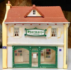 MKD PHARMACIE HO maquette non montée village de France MAISON magasin
