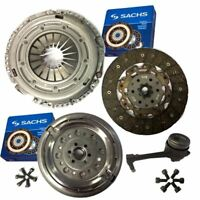 SACHS CLUTCH & DUAL MASS FLYWHEEL, CSC &BOLTS FOR VW EOS CONVERTIBLE 2.0 TDI 16V