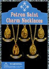 250 Vending Machine 1.1 Inches Small Capsule Toy - Patron Saint Charm Necklaces