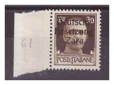 ZARA  1943  - 30  CENTESIMI -  PRIMO TIPO   NUOVO **