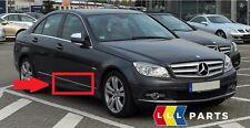 NUOVO Originale Mercedes Benz MB Classe C W204 Porta Anteriore Destra Cromato Stampaggio Trim