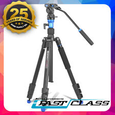 Pro BENRO A1883FS2 Camera Video Camcorder & PAN Head Tripod Kit For Canon Sony