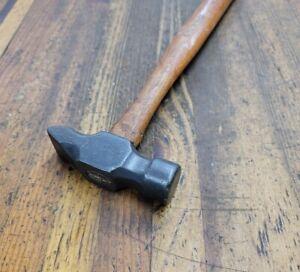 ANTIQUE Tools Beveled Dimple BLACKSMITH Anvil Cross Peen HAMMER Rare Tool ☆USA