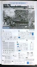 Dragon 1/35th Scale Sd.Kfz. 265 Kleine Panzerbefehlswagen Directions Only