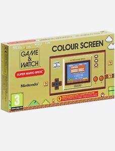 Nintendo Game & And Watch Super mario Bros Edition 2020 NEUF