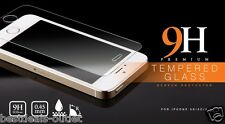 Apple iPhone 5S  - Tempered Glass - Screen Protector - Scratch Guard Transparent