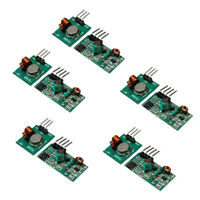 10Pcs 433MHZ Wireless Module RF Transmitter and Receiver Module Link Kit DIY