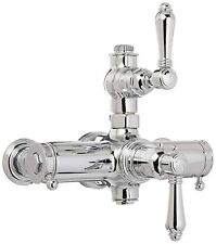 Rohl Exposed Thermostatic Mixing Shower Valve + Volume Control Polished Chrome