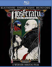 Nosferatu The Vampyre [Blu-ray] DVD, Klaus Kinski, Isabelle Adjani, Bruno Ganz,