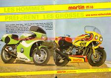 MARTIN Production M16 KAWASAKI Z1000 J 1135 : Pochette Dépliant Moto #0003