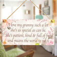 I love my granny such a lot.. - Cute Gift For Special Gran Retirement Plaque