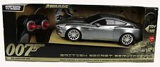 Toy State RC James Bond 007 Aston Martin V12 Vanquish Secret service R/C 1/18