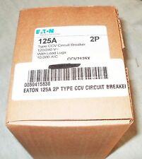 Eaton 125A 2P Type CCV Circuit Breaker CCV2125X
