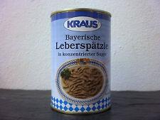 Bayerische Leberspätzle Suppe vom Metzger keine Industrieware Konserven